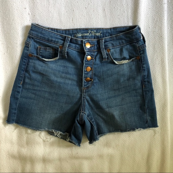 Universal Thread Pants - Universal Thread Denim Shorts Button Fly
